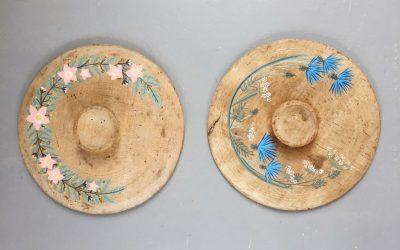 Peinture sur bois – Platoir à beurre